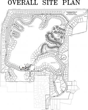 Hidden Lake - Overall Site Plan